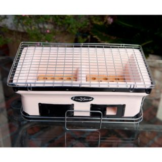 Fire Sense Rectangle Yakatori Charcoal Grill