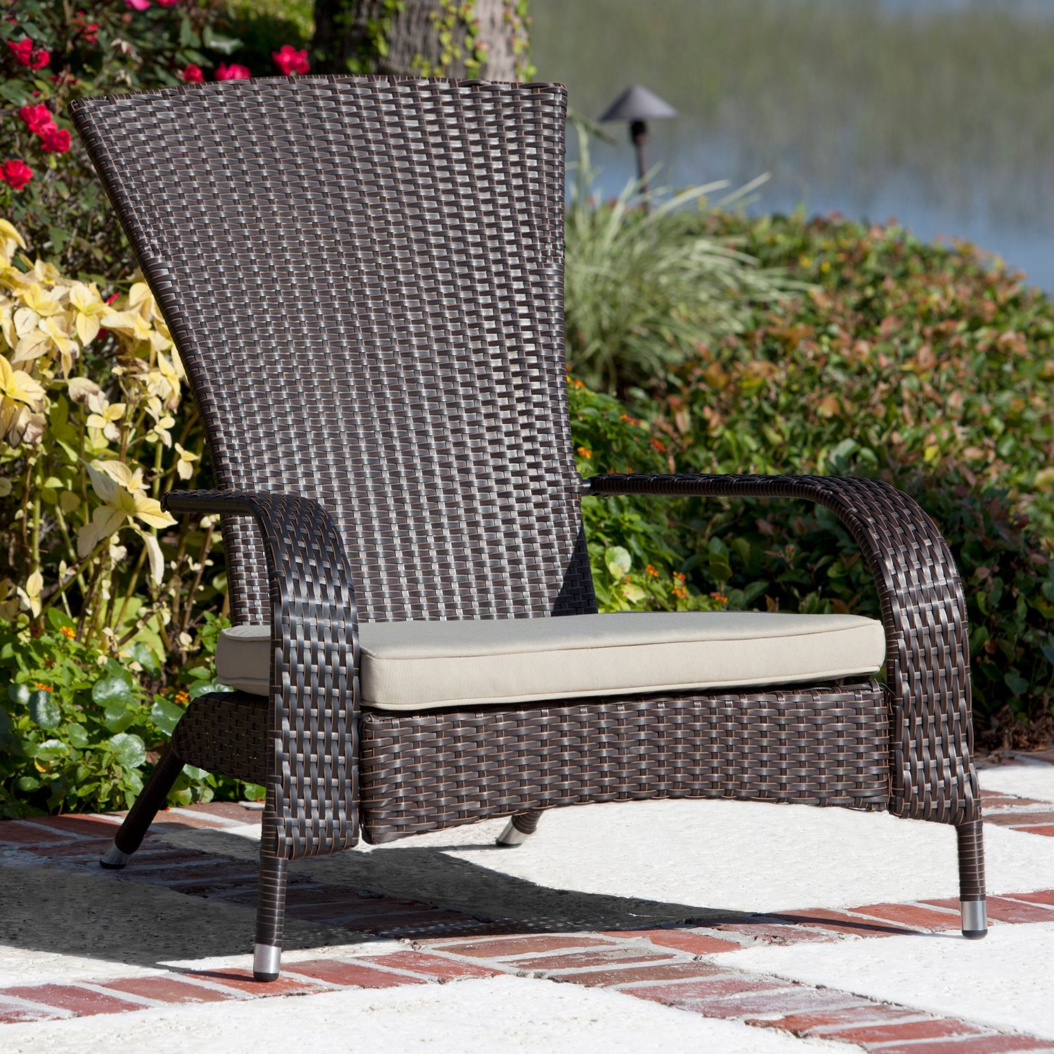 Patio Sense Coconino Outdoor Wicker Chair