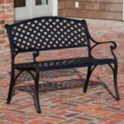 Patio Sense Antiqued Patio Bench