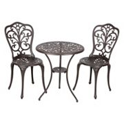 Patio Sense Faustina Bistro Table 3 pc Set
