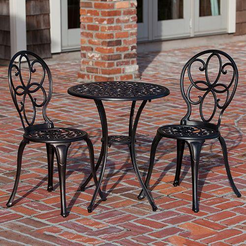 Patio Sense Arria Bistro Table 3-piece Set