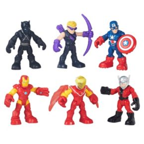Playskool Heroes Marvel Super Hero Adventures Captain America Super Jungle Squad Pack by Hasbro