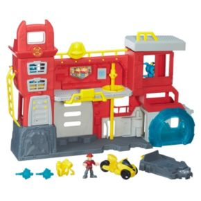 Playskool Heroes Transformers Rescue Bots Griffin Rock Firehouse Headquarters by Hasbro