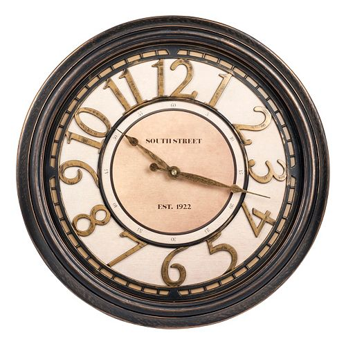 "Waltham ""South Street"" Wall Clock"