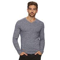 Men's Marc Anthony Slim-Fit Solid Cashmere-Blend V-Neck Sweater