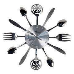 Waltham Kitchen Utensil Wall Clock