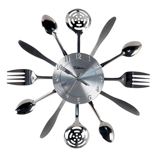 Waltham Kitchen Utensil Wall Clock
