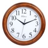 Waltham Wood Wall Clock
