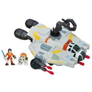 Star Wars Galactic Heroes The Ghost, Ezra & Chopper Set by Hasbro