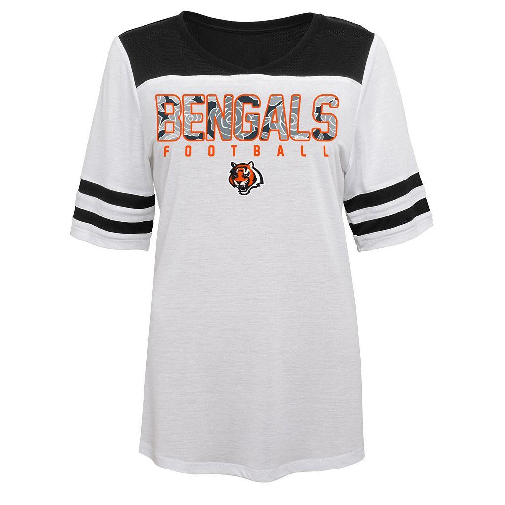 Juniors' Cincinnati Bengals Team Nation Fashion Top
