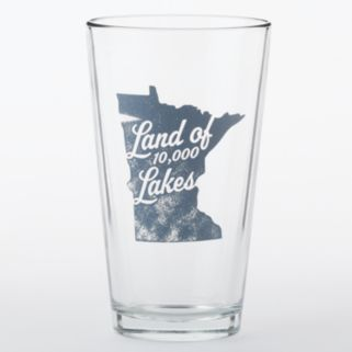 """Land of 10,000 Lakes"" 16-oz. Pint Glass"