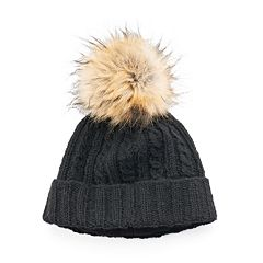 Women's SIJJL Cable-Knit Wool Beanie