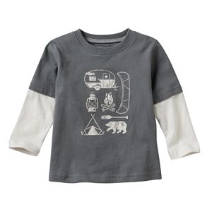 Baby Boy Jumping Beans® Graphic Skater Tee