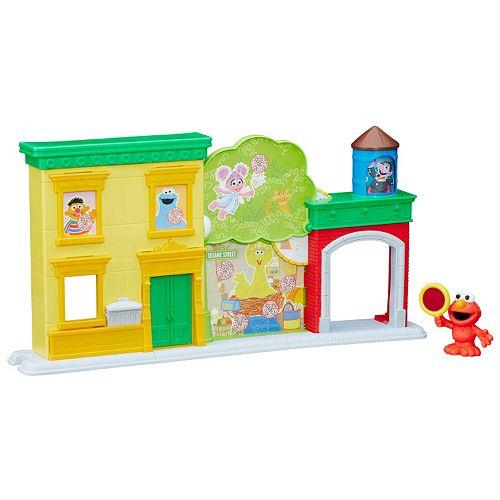 Playskool Sesame Street Discover ABCs with Elmo Playset