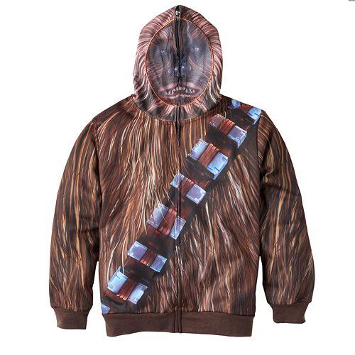 Boys 8-20 Star Wars Chewbacca Hoodie