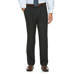 Men's Croft & Barrow® True Comfort Classic-Fit Opticool Pleated Dress Pants
