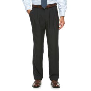 Men's Croft & Barrow® True Comfort Classic-Fit Opticool Pleated Dress Pants