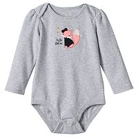 Baby Girl Jumping Beans® Embroidered Applique Bodysuit