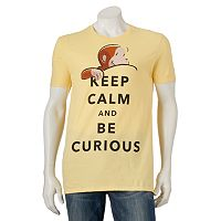 Men's Curious George Keep Calm Tee
