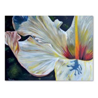 Trademark Fine Art Hibiscus Canvas Wall Art