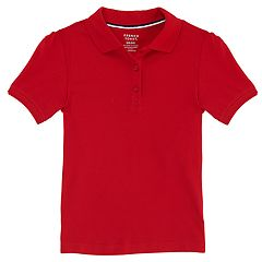Girls 4-20 & Plus Size French Toast School Uniform Stretch Pique Polo Shirt