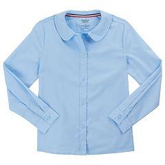 9613467dbc30a7 Girls 4-20 & Plus Size French Toast School Uniform Peter Pan Collar Blouse