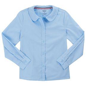 Girls 4-20 & Plus Size French Toast School Uniform Peter Pan Collar Blouse