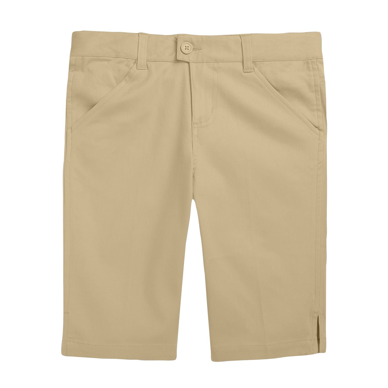 Girls Khaki Shorts
