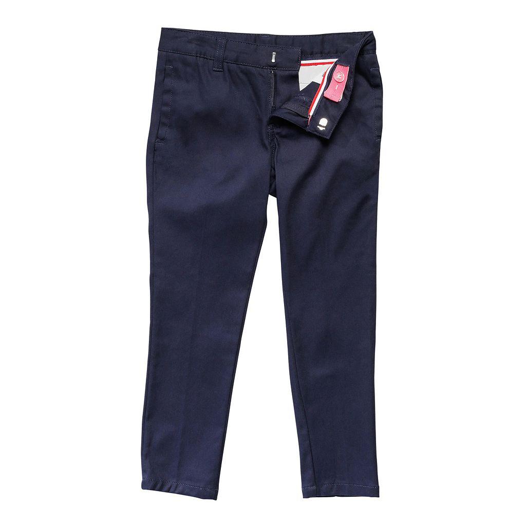 Girls 4-20 & Plus Size French Toast School Uniform Skinny Twill Pants