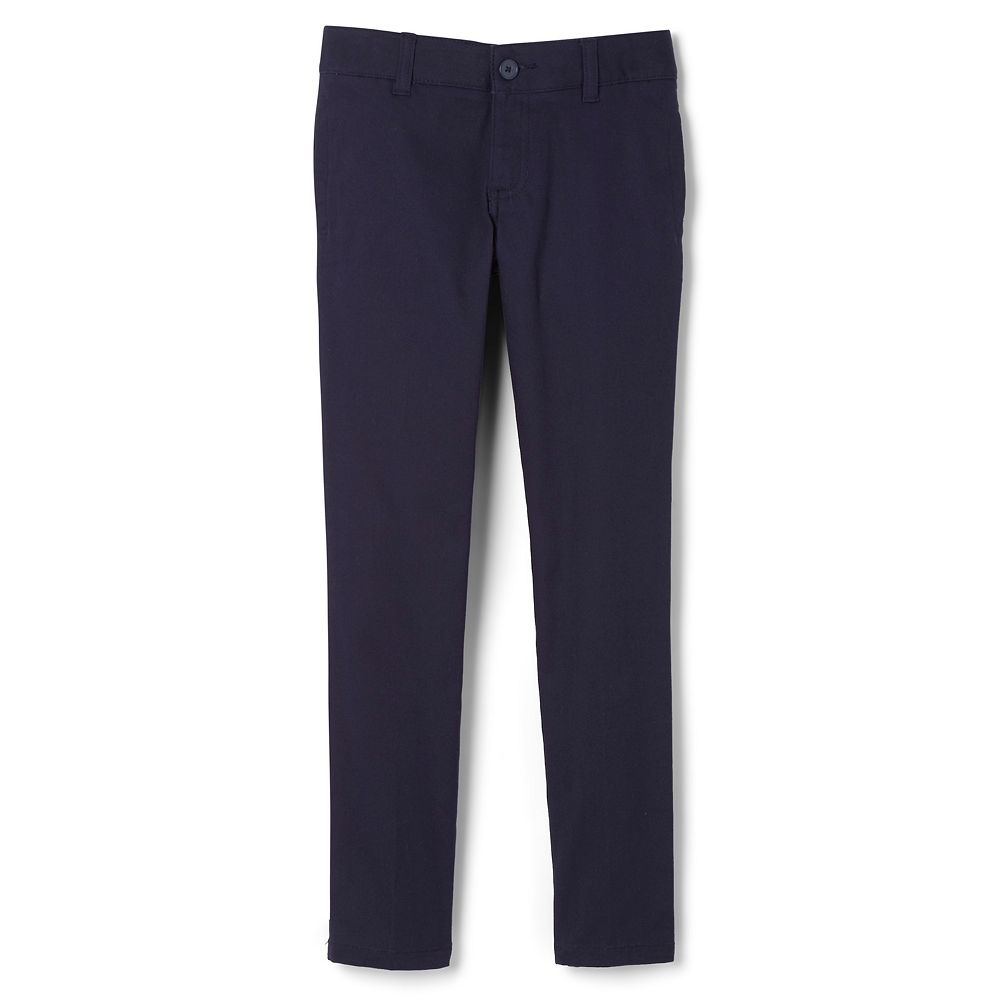 Girls French Toast 4-20 & Plus Size Adjustable Waist Twill Pant