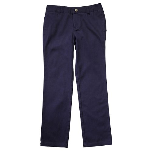 Girls 4-20 & Plus Size French Toast School Uniform Straight Leg Pants