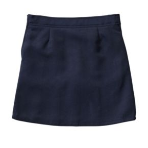 Girls 4-20 & Plus Size French Toast School Uniform 2-Buckle Solid Skort