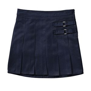 Girls 4-20 & Plus Size French Toast School Uniform 2-Buckle Solid Skort