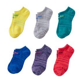 Girls adidas 6-pk. Superlite No-Show Socks
