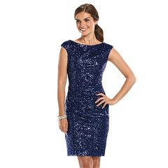 Womens Blue Sheath Dresses- Clothing - Kohl&-39-s