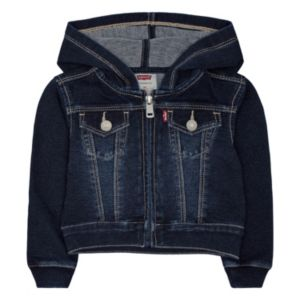 Baby Girl Levi's French Terry Jacket