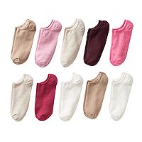 Women's SONOMA Goods for Life™ 10-pk. Marled No-Show Socks