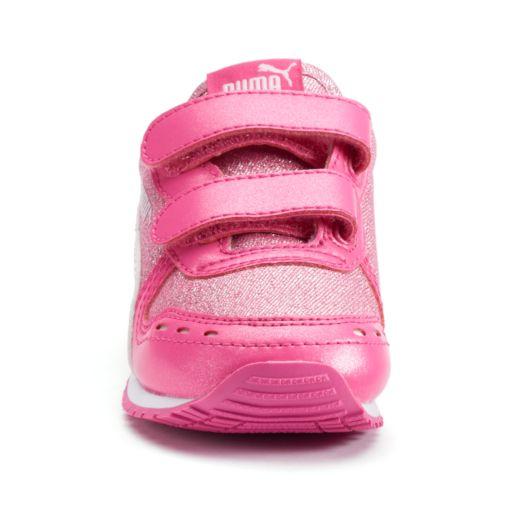 PUMA Cabana Racer Glitter V Toddler Girls' Shoes