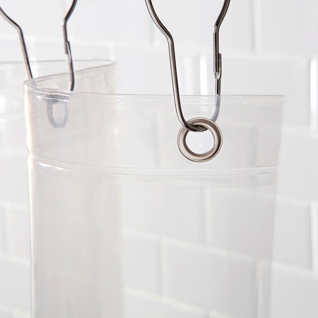 Kenney Medium Weight PEVA Shower Curtain Liner