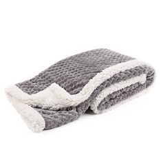 Tadpoles Popcorn Plush Sherpa Ultra-Soft Baby Blanket