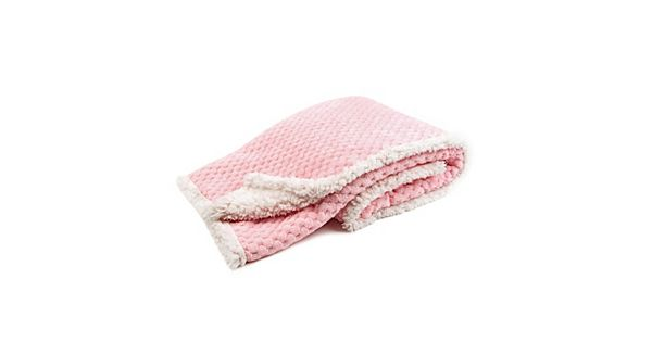 Tadpoles Popcorn Plush Sherpa Ultra Soft Baby Blanket