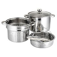 PureLife 8-qt. Stainless Steel Multi-Cooker