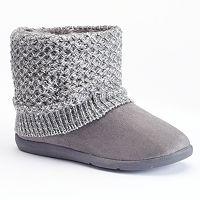 Women's SONOMA Goods for Life™ Knit Boot Slippers