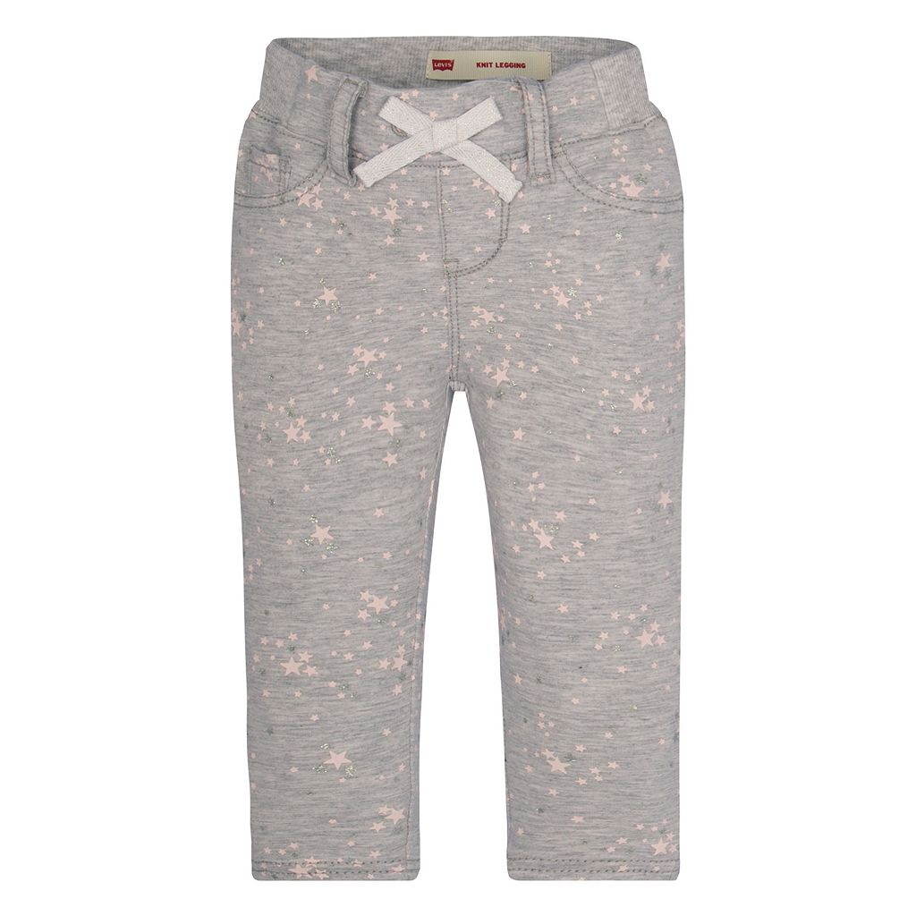 Baby Girl Levi's Star Knit Leggings