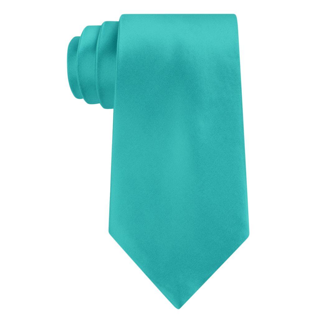 Big & Tall Croft & Barrow® Extra-Long Solid Satin Tie