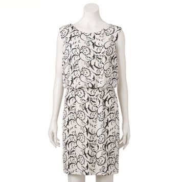 Women's Scarlett Glitter Blouson Dress