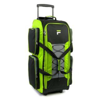 FILA Extra Large Rolling Duffel Bag