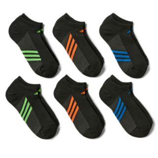 Boys adidas  6-Pack No-Show climalite Socks