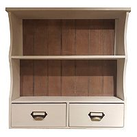Sheffield Home 2-Shelf Wall Cabinet