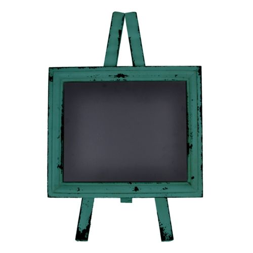 Sheffield Home Distressed Chalkboard Easel Table Decor